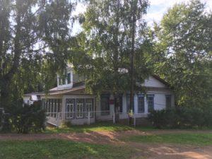 Сад при доме Теплоухова