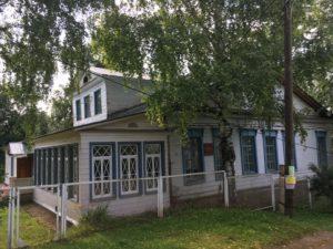 Дом Теплоухова в Ильинском
