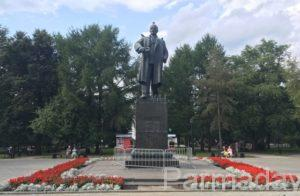 памятники Перми и Ленин