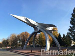 МиГ 31 в городе Пермь