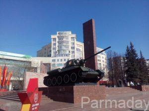 памятник Уральским добровольцам