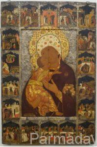 Владимирская Богоматерь из собрания пермской галереи