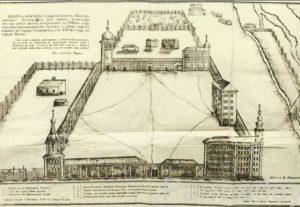 План монастыря в Пыскоре