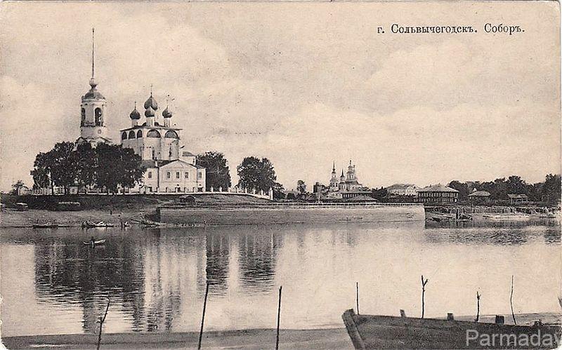 Благовещенский собор в Сольвычегодске, построенный в XVI веке.