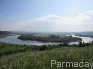 Каширинская петля на Сылве в Пермском крае