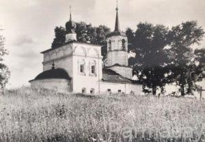 Церковь Николая Чудотворца в Пыскоре Пермский край