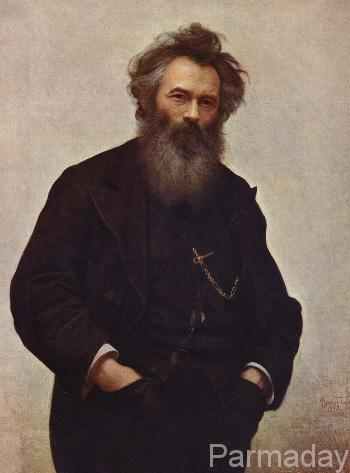 Портрет Шишкина Крамской