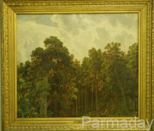 Картины Ивана Шишкина Верхушки сосен