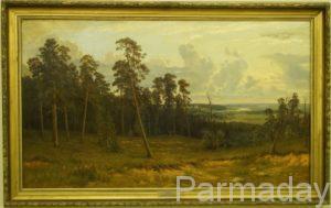 Картина Сосновой бор Ивана Шишкина из Пермской галереи