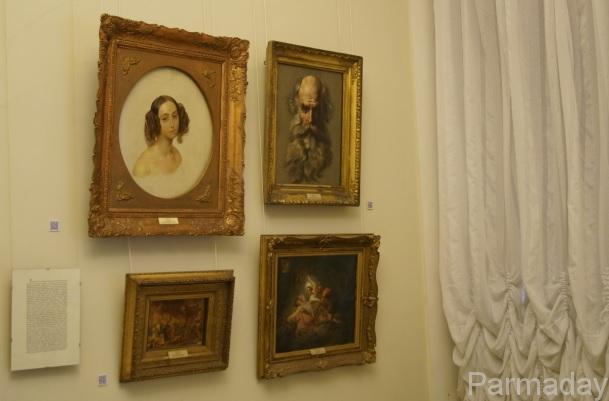 Картины Карла Брюллова в пермской художественной галерее