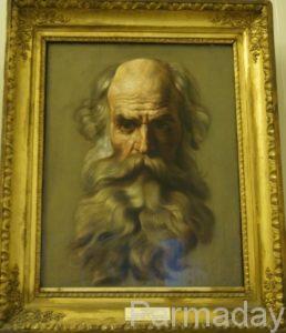 Голова Апостола Карла Брюллова в пермской галерее