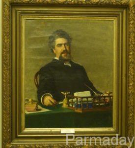 Потртрет инженера Ададурова в пермской галерее