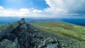 Вид с горы Ослянка