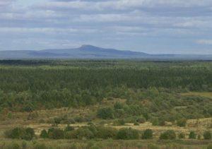 гора Полюд с Чердыни