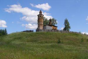 Верх-Боровая Крестовоздвиженская церковь