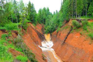 Канал Копань в Пермском крае