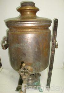 Медвный самовар, изготовленный в Суксуне