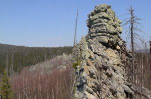Еранина деревня гора в Пермском крае