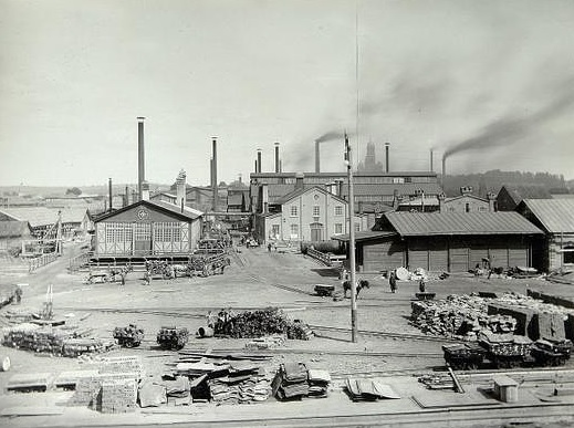 Лысьвенский металлургический завод в начале века