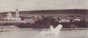 Панорама Суксуна в начале 20 века