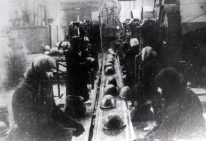 Производство касок на заводе в Лысьве