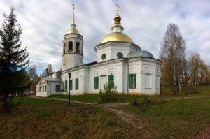 Никольский храм в Кудымкаре