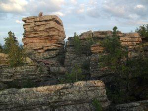 Колчимский камень в Пермском крае