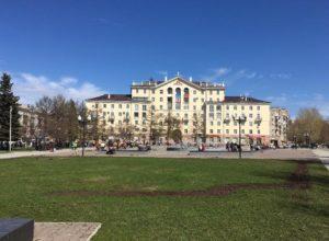 Сквер имени Дзержинского Пермь