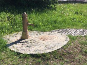 памятник колонке в Перми