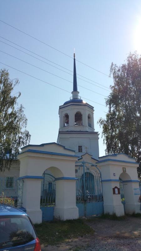 Церковь похвалы Богородице в Орел-городке