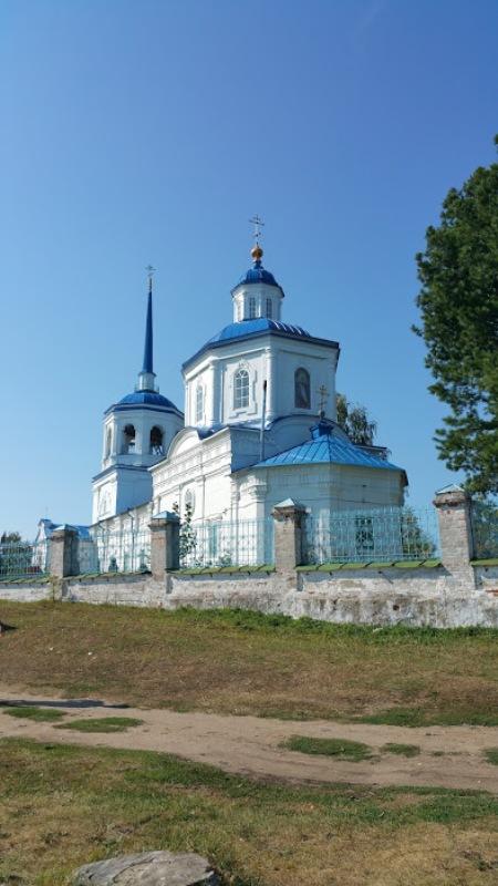 Храм в селе Орел городок