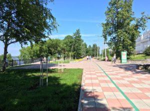 Сквер Решетникова в городе Пермь