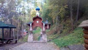 Часовня Трифона Вятского на Гляденовской горе