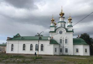 Успенская церковь в Кунгуре фото