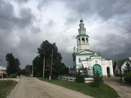 Общий видд церкви Преображения