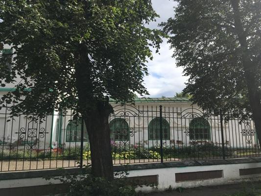 Трапезная Преображенской церкви в Кунгуре