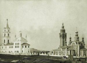 Воскресенский собор и Преображенская церковь в Чердыни
