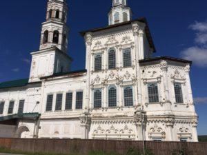 Декор церкви Иоанна Предтечи в Соликамске