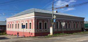Фасад дома Дубровина в Соликамске