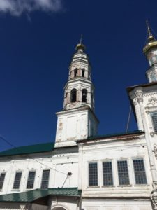 Колокольня церкви Иоанна Предтечи в Соликамске