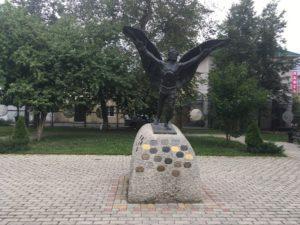 Памятник воздухоплавателям в Кунгуре