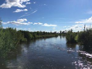река Усолка в Соликамске
