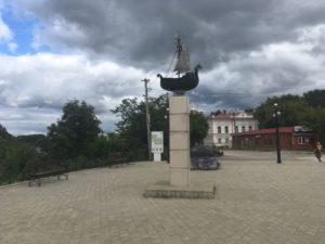 памятник первопроходцам в Кунгуре