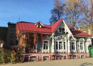деревянное зодчество в Перми