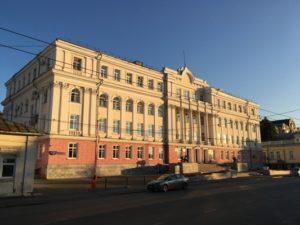 Дом со львами в городе Пермь