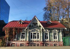 Дом Токаревой на улице Пермская