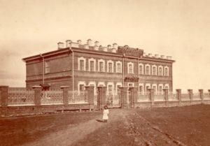 Здание приюта слепых в Перми