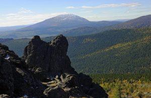 Косьвинский камень на реке Косьва