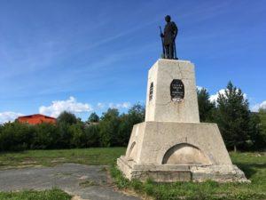 Памятник Борцам за Советскую власть в Лысьве открыт в 1924 году