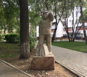 образ памятника Ивану Семенову Пермь